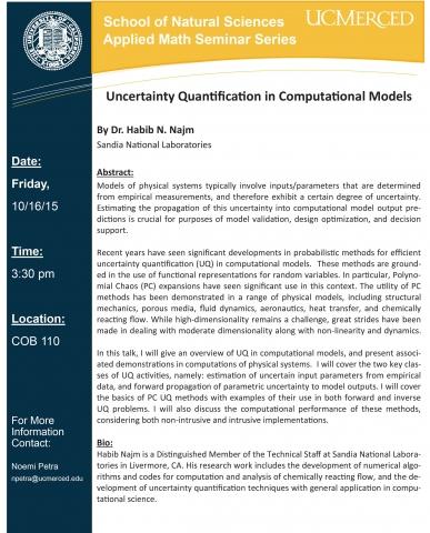 Applied Mathematics Seminar Series