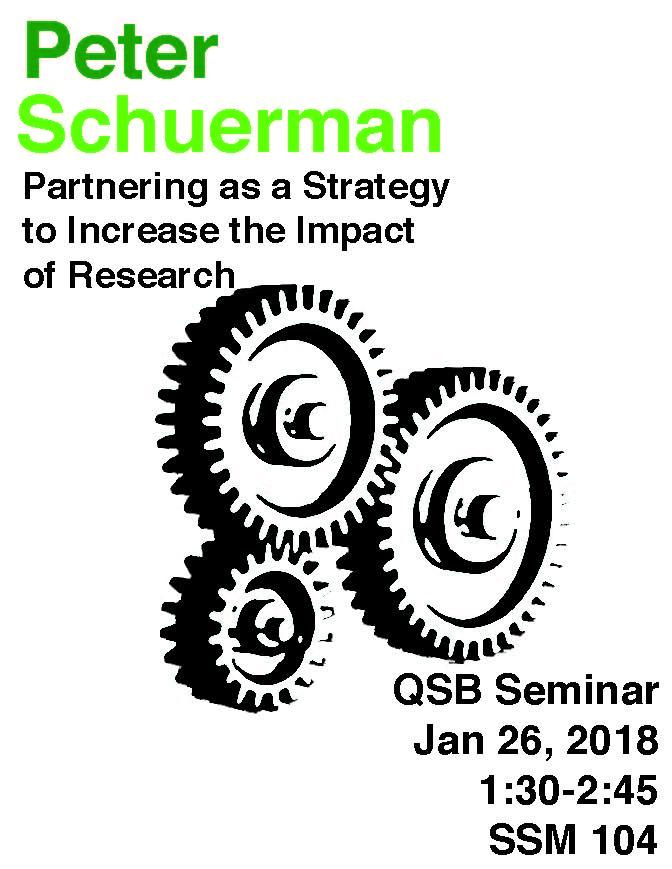 QSB Seminar Series (1/26/18)
