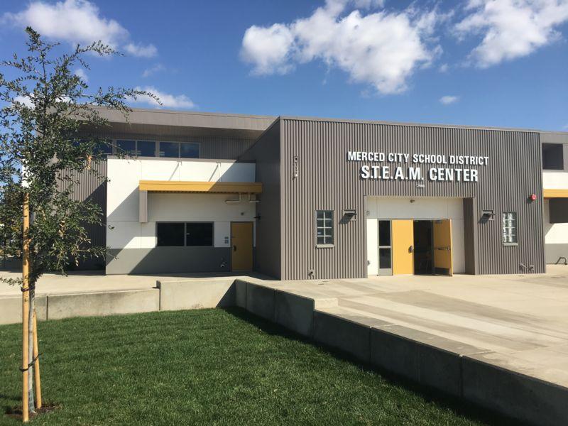 Merced City School District's STEAM Center