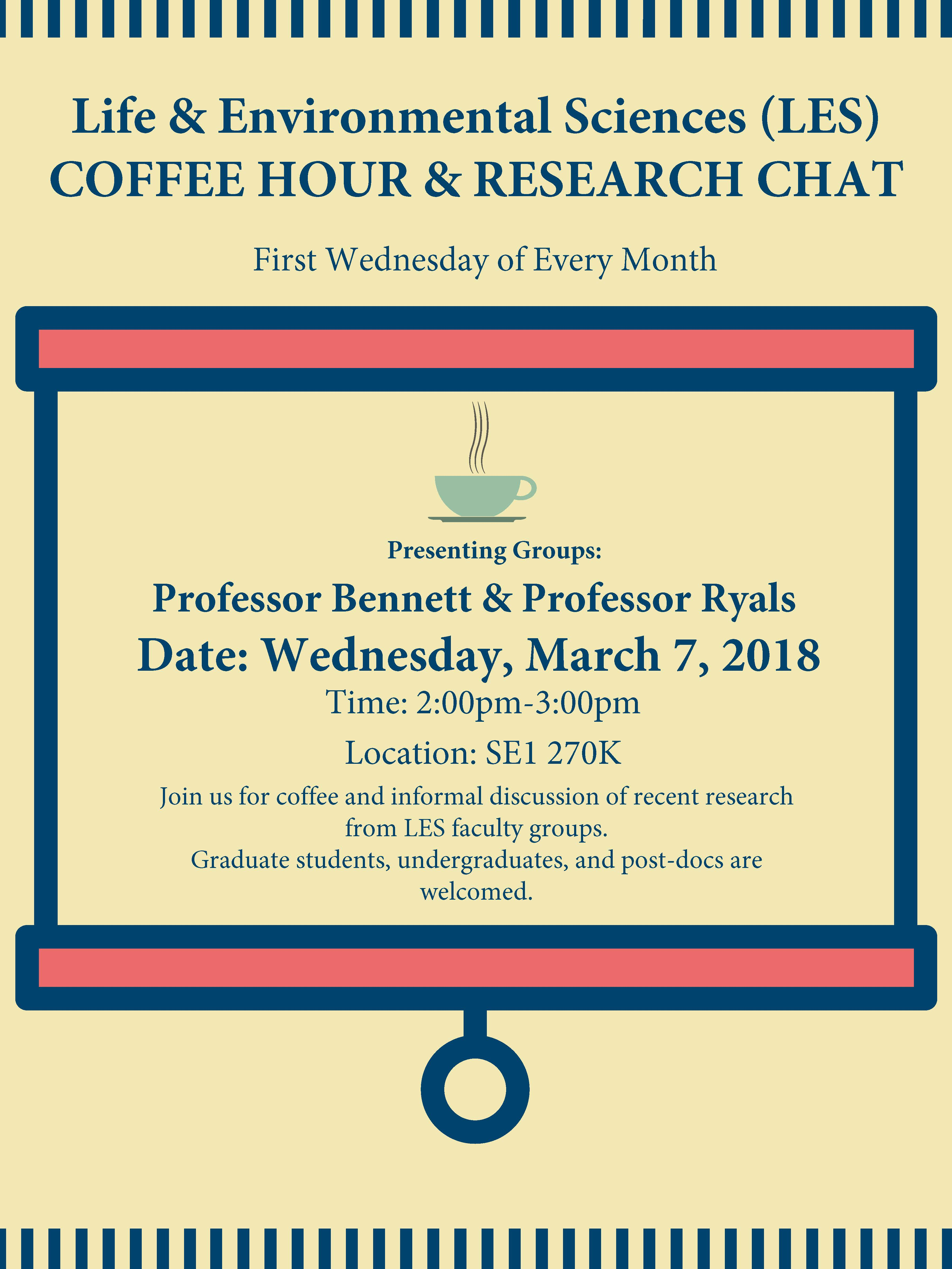 LES Coffee Hour/ Research Chat