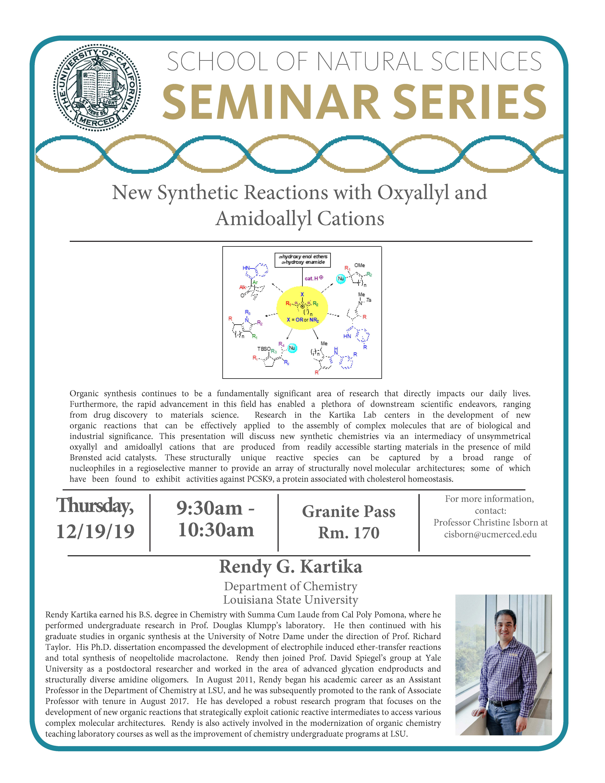CCB Seminar for Dr. Rendy G. Kartika