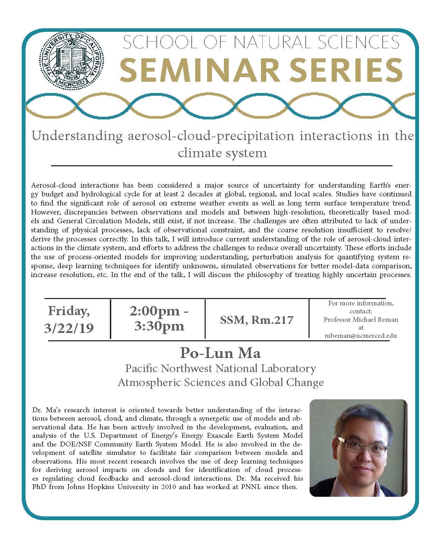 LES Seminar - Dr. Po-Lun Ma