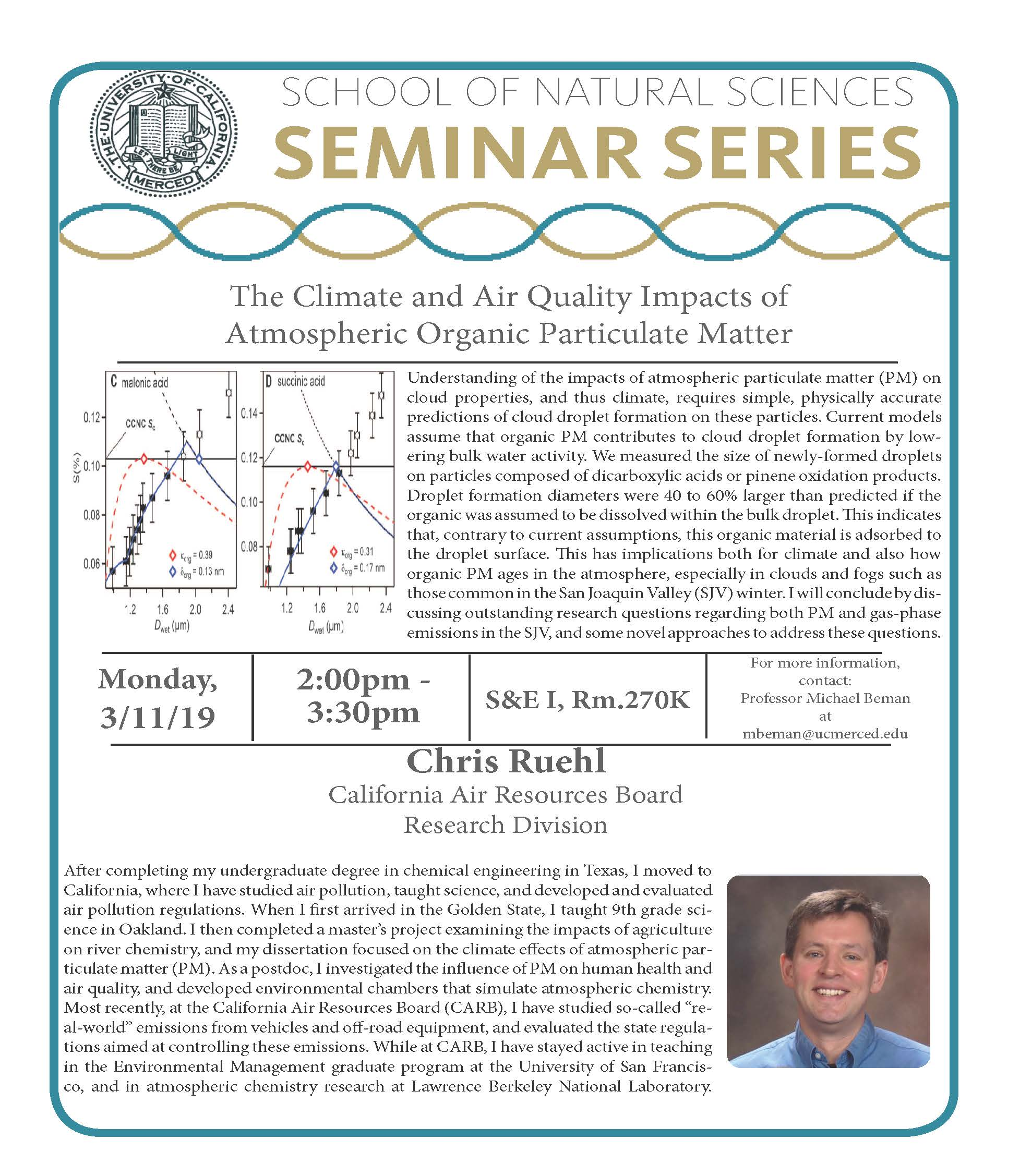 LES Seminar - Dr. Chris Ruehl