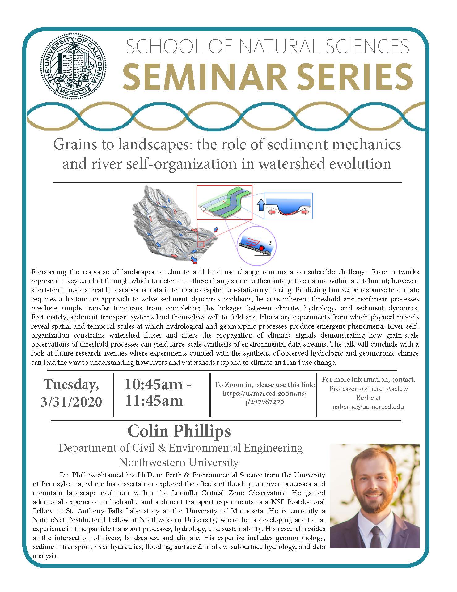 LES Seminar for Dr. Colin Phillips