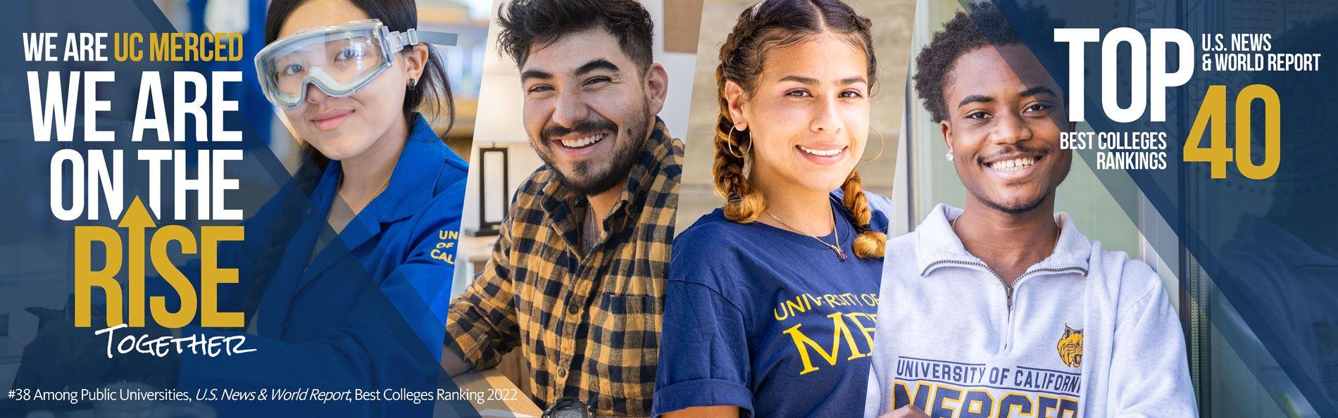 UC Merced Top 40 in public universities