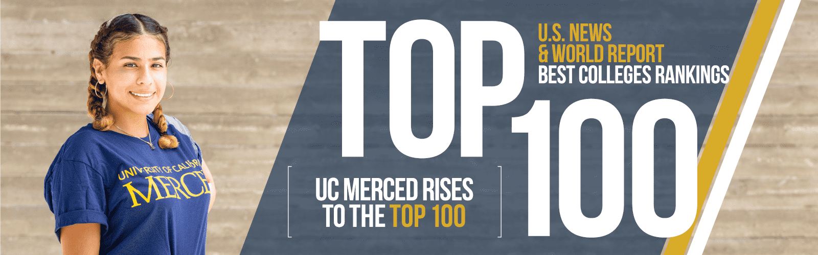 US News and world report best colleges rankings include UC Merced