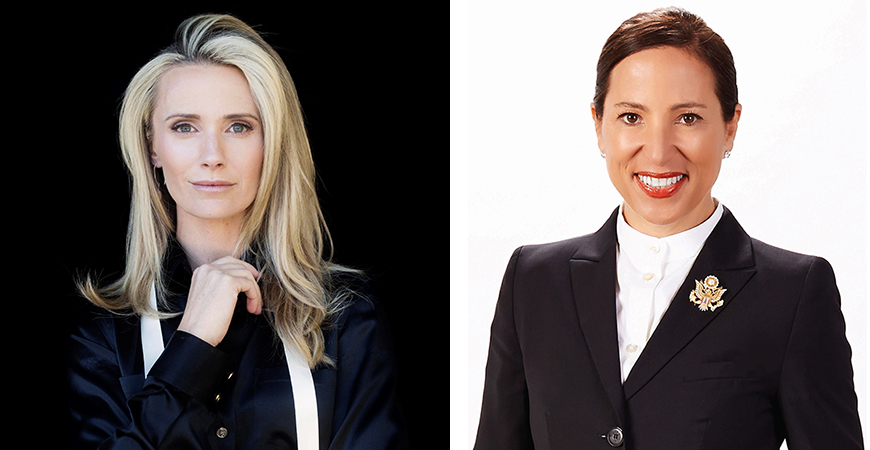 First Partner Jennifer Siebel Newsom and Lt. Gov. Eleni Kounalakis will address UC Merced's 2019 graduating class at the commencement ceremonies in May.