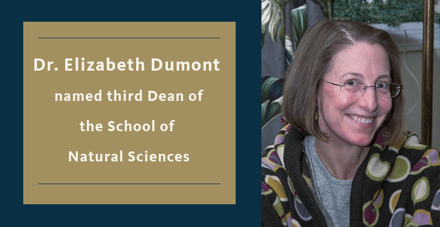 New Dean Named for the School of Natural Sciences