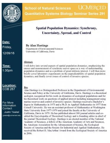 QSB Seminar Series 291 (12/9/16)