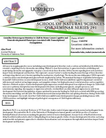 QSB Seminar Series 291