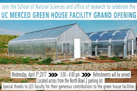 UC Merced Greenhouse