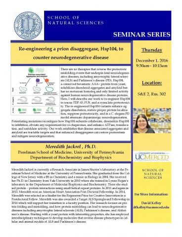 Chemistry Seminar 12/1/16
