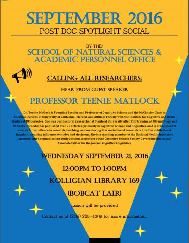 September Postdoc Spotlight