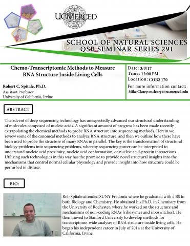 QSB Seminar Series 291 (3/3/17)