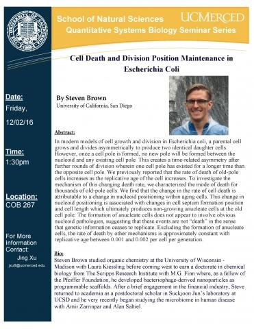 QSB Seminar Series 291 (12/2/16)