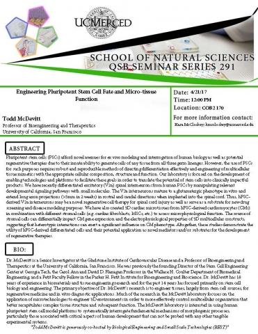QSB Seminar Series 291 (4/21/17)
