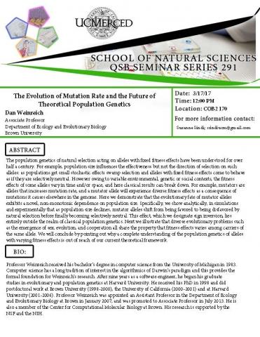 QSB Seminar Series 291 (3/17/17)