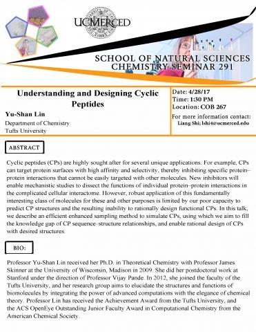 Chemistry Seminar Series 291